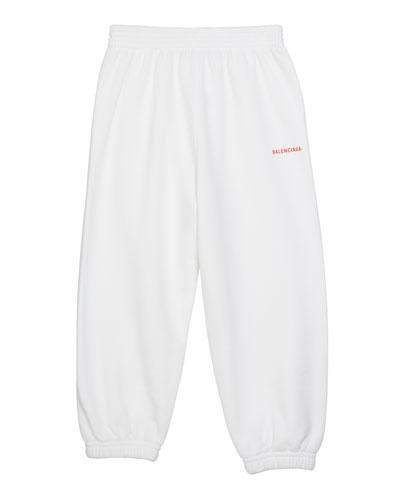 Kid's Logo Sweatpants  Size 2-10
