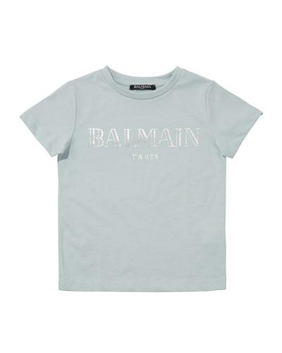 Kid's Short-Sleeve Logo Tee  Size 10-16