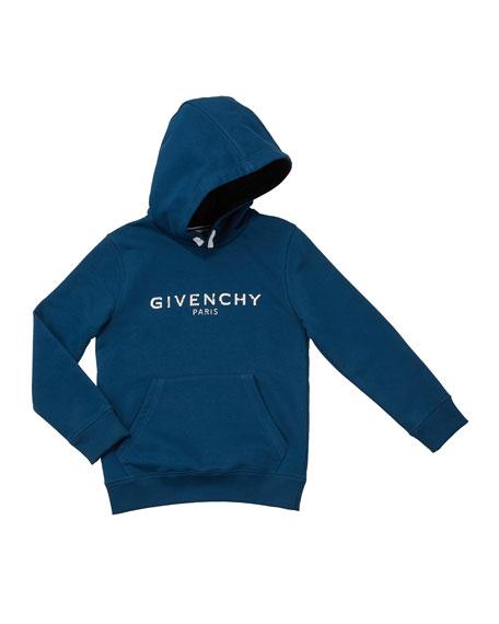 Boys' Hooded Logo Sweatshirt, Size 12-14