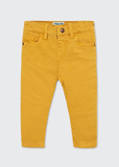 Boy's Colored Straight Leg Pants  Size 12-36 Months