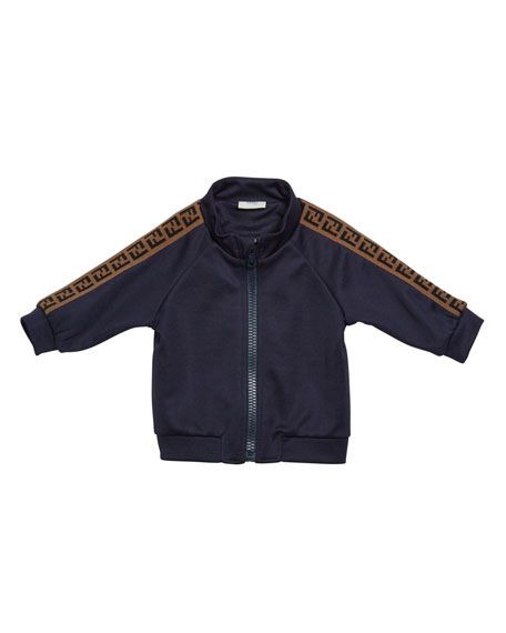 Boy's Track Jacket w/ FF Taping, Size 12-24 Months