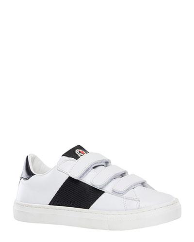 Mel Leather Grip-Strap Sneakers  Toddler/Kids