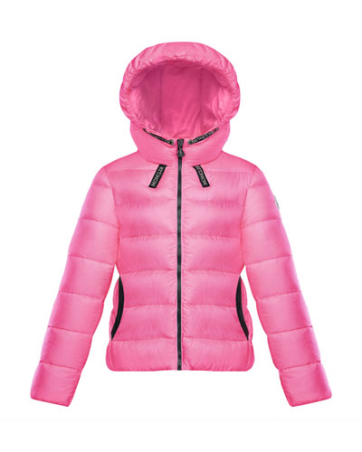 Chevril Hooded Puffer Coat  Size 4-6