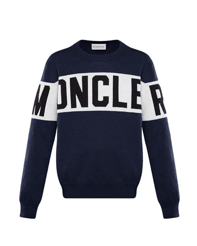 Logo Pullover Sweater  Size 8-14