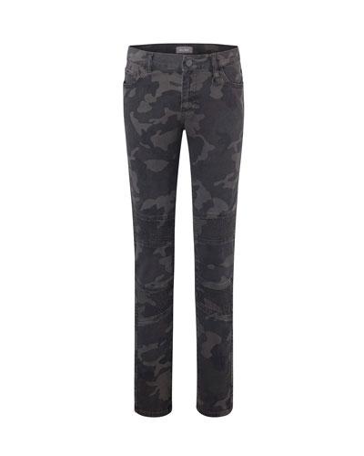 Boy's Zane Camo Super Skinny Denim Jeans  Size 8-16