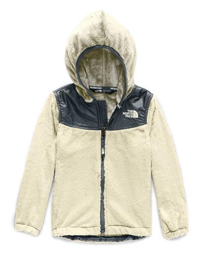 Oso Fleece Hooded Jacket  Size 2-4T