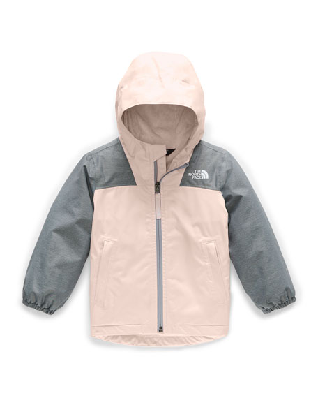 Girl's Warm Storm Two-Tone Jacket, Size 2-4T