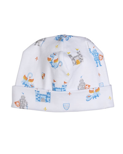 Dragon Castle Printed Baby Hat