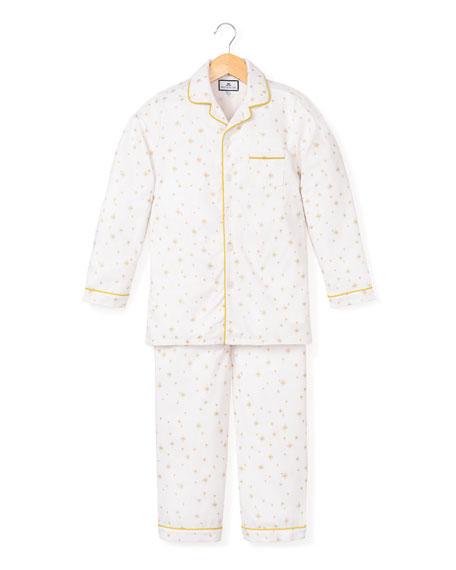 Gilded Celebration Two-Piece Pajama Set, Size 6M-14