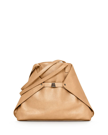 Akris Ai Cervo Medium Shoulder Tote Bag