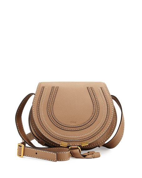 d3e25b15f1 Chloe Marcie Small Satchel Bag, Light Brown