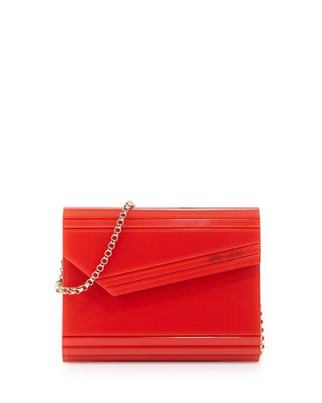 rectangular clutch bag - Red Jimmy Choo London wODfV
