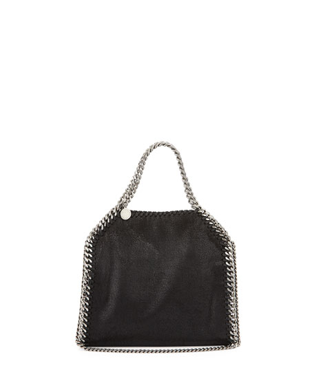 Stella McCartney Mini Falabella Crossbody Bag, Black f6b90de997