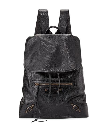 Classic Lambskin Traveler Backpack