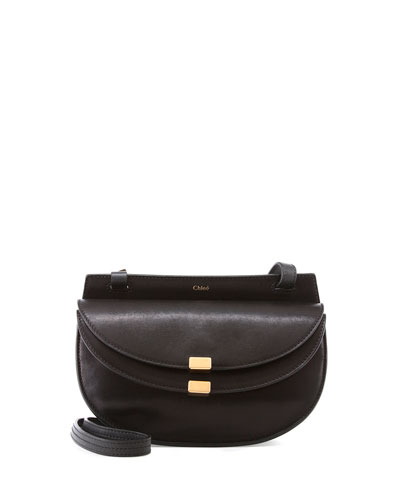 Georgia Mini Leather Crossbody Bag