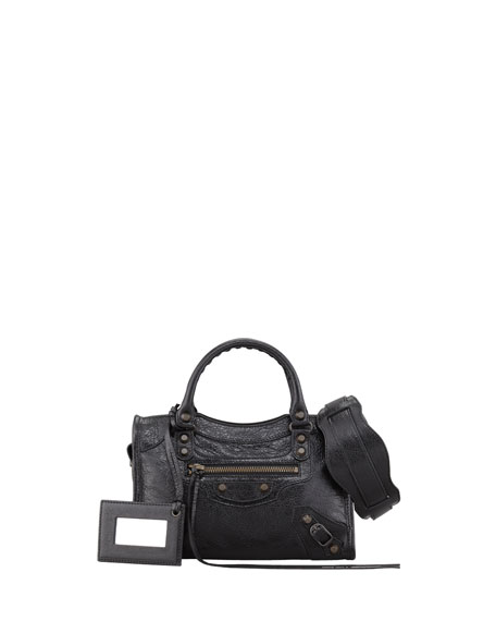 Classic Mini City Bag, Black