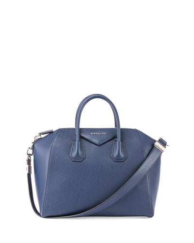 Antigona Medium Leather Satchel Bag