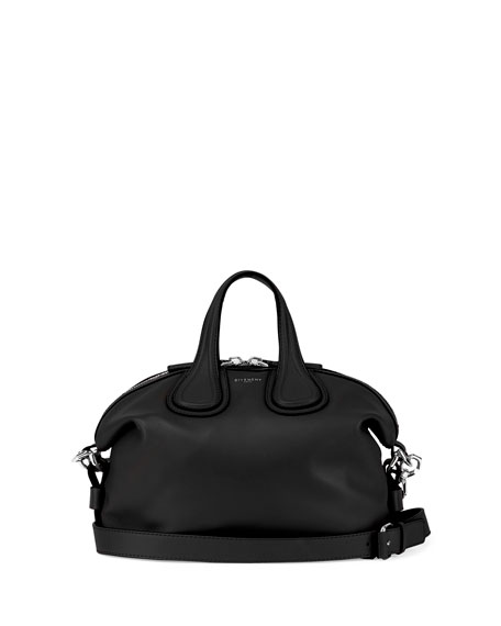 Givenchy Nightingale Satchel Leather Small umSeqq