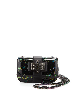 Sweety Charity Iridescent Flecked Mini Crossbody Bag