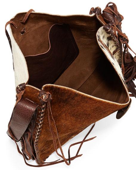 549732618e0e Ralph Lauren Artisinal Calf Hair Tassel Hobo Bag. Artisinal Calf Hair  Tassel Hobo Bag. Artisinal Calf Hair Tassel Hobo Bag