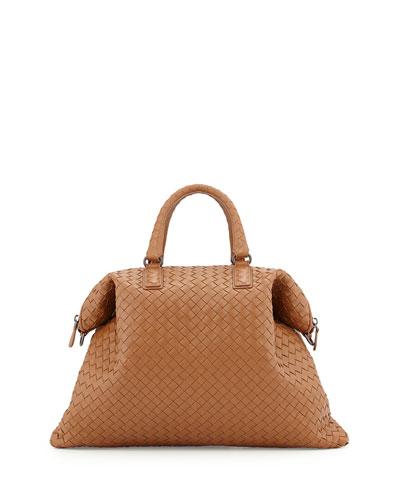 Convertible Woven Tote Bag