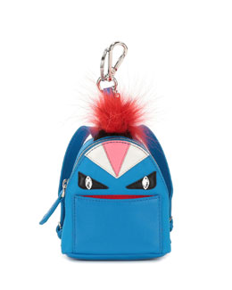 Mini Monster Backpack Charm for Handbag