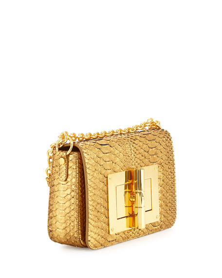 30bf4f3d643e TOM FORD Natalia Medium Python Crossbody Bag