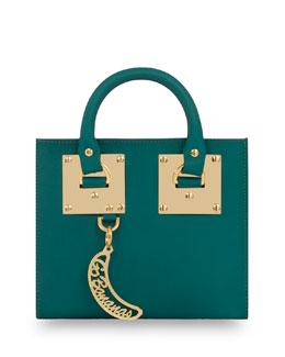 Leather Box Tote Bag