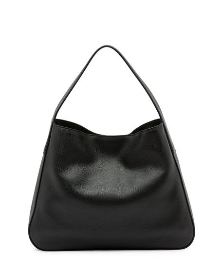 d6f290fdce75 Prada Vitello Daino Medium Wide-strap Hobo Bag Black (nero ...
