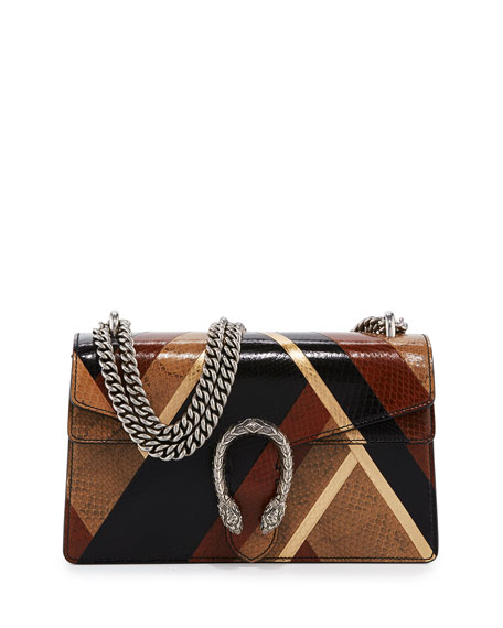 Gucci Dionysus Small Patchwork Chain Shoulder Bag