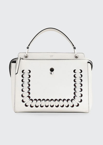 DOTCOM Threading Leather Satchel Bag
