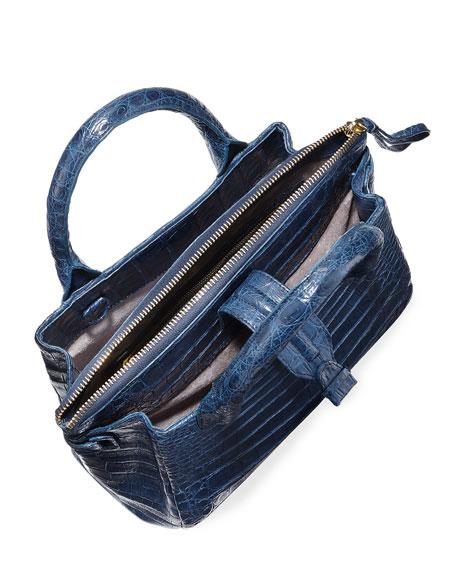 Mini Christina Crocodile Tote Bag