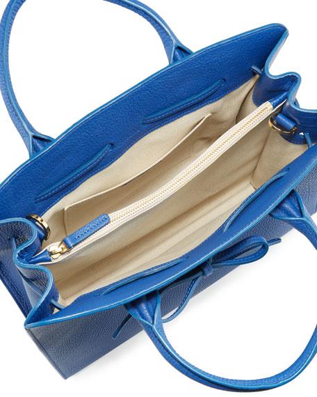 Tumbled Leather Sun Tote Bag