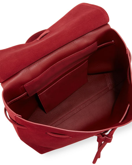 Suede Mini Lady Bag