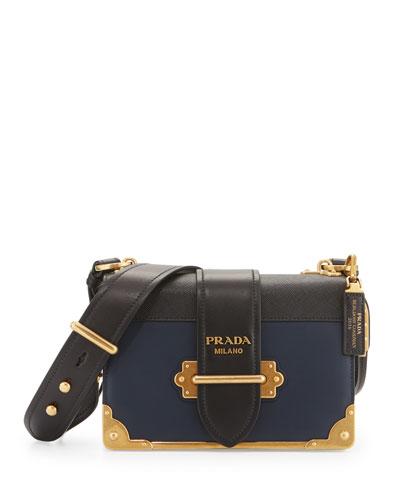 Leather Trunk Shoulder Bag, Baltico