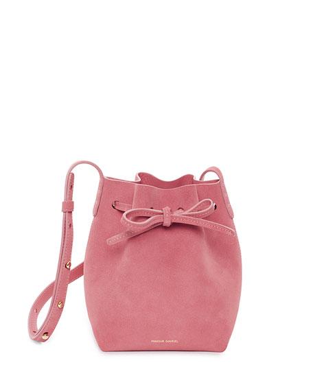 06241193a6ef Mansur Gavriel Mini Mini Suede Bucket Bag
