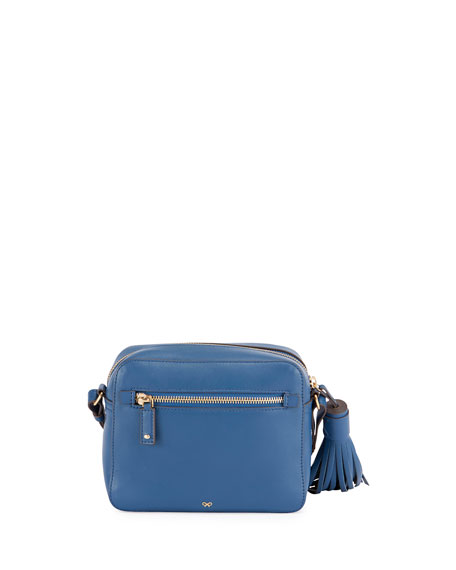 Rainbow & Cloud Crossbody Bag, Blue/Multi