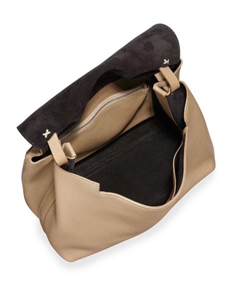 Sidekick Fine-Grain Leather Shoulder Bag