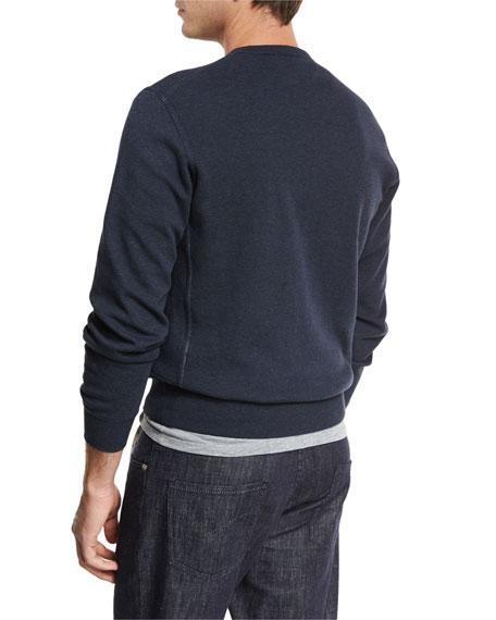 Cotton Crewneck Spa Sweatshirt