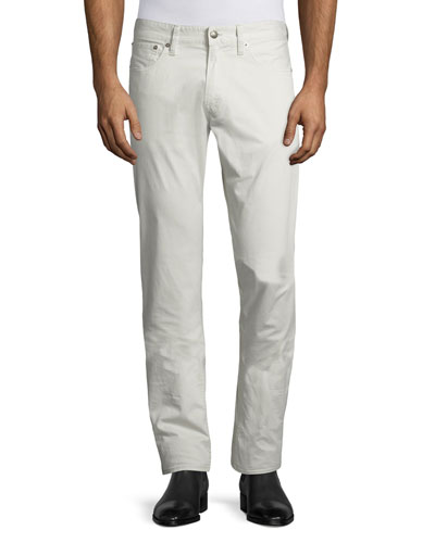 Twill 5-Pocket Pants Desert Stone