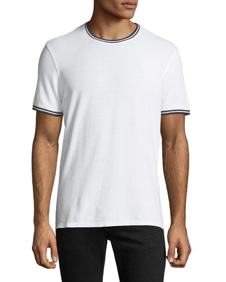 Tipped Short-Sleeve Jersey T-Shirt