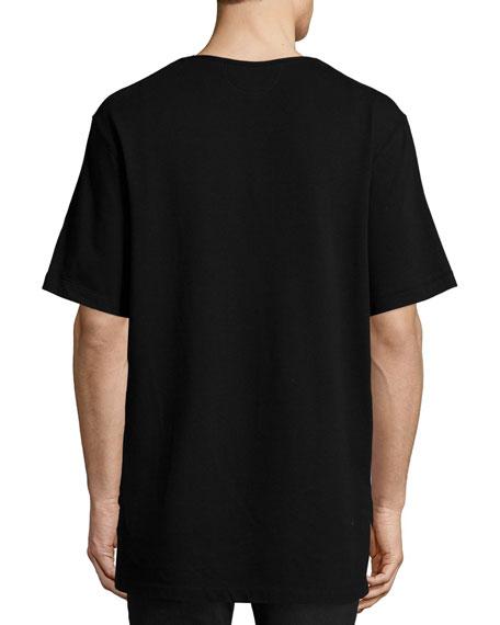 Gradient-Plaid T-Shirt