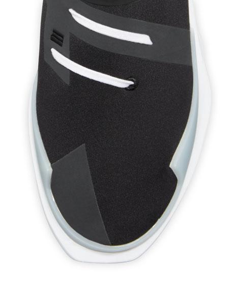 Men's Noci High-Top Sneaker, Black/White