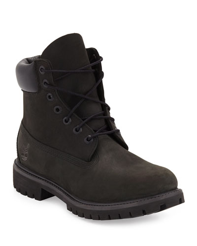 6 Premium Waterproof Hiking Boot  Black
