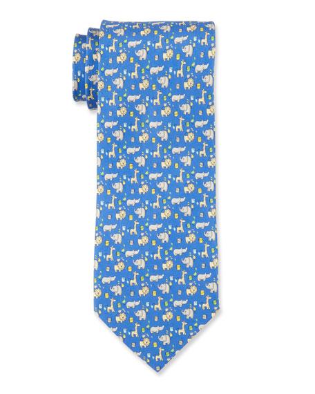 Safari Silk Tie