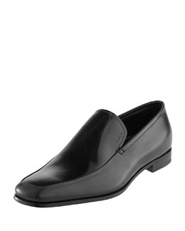 Polished Loafer, Black