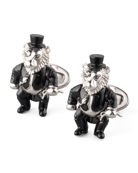 BG 111th Anniversary Lion Tamer Cuff Links