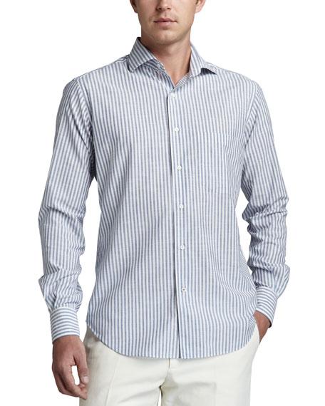 Alain Striped Sport Shirt