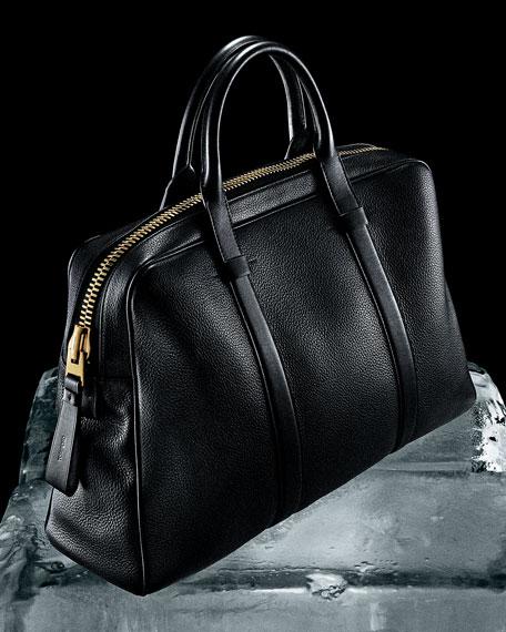 503864e9aeecbd TOM FORD Buckley Leather Duffel Bag, Small