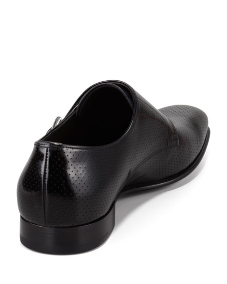 Perforated Monk Loafer